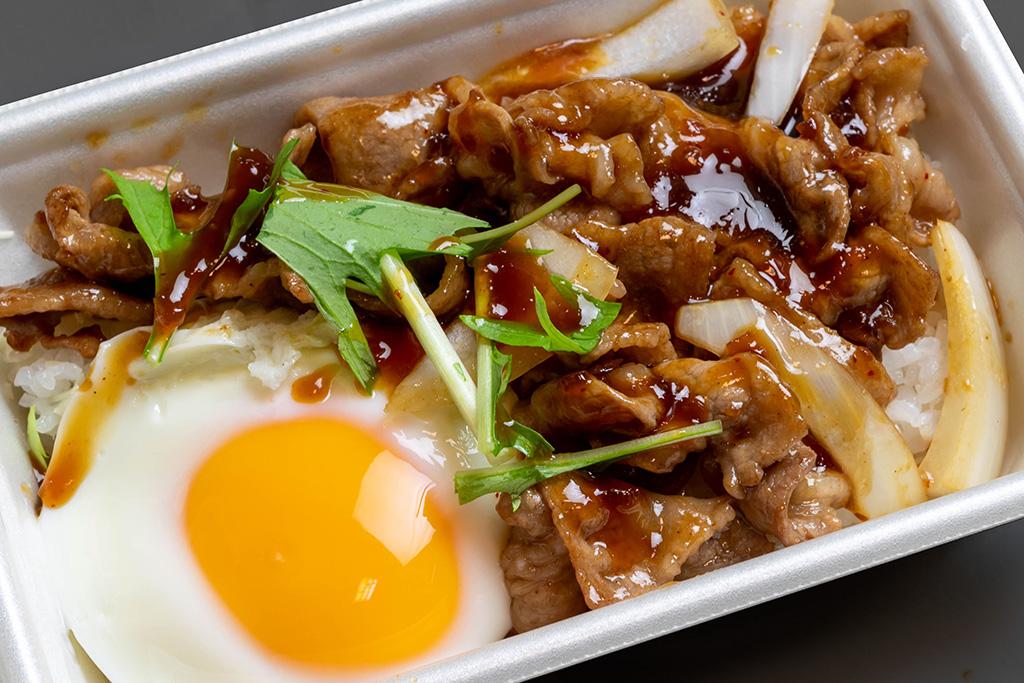 牛スタミナ丼 650円(税込)