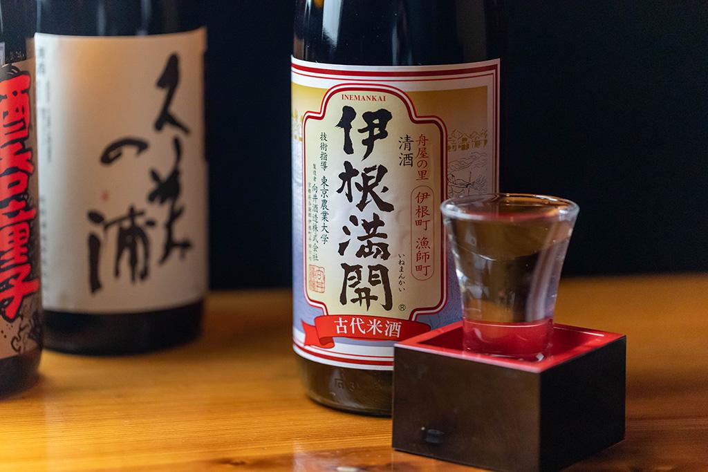 伊根町から「伊根満開」向井酒造・赤米酒