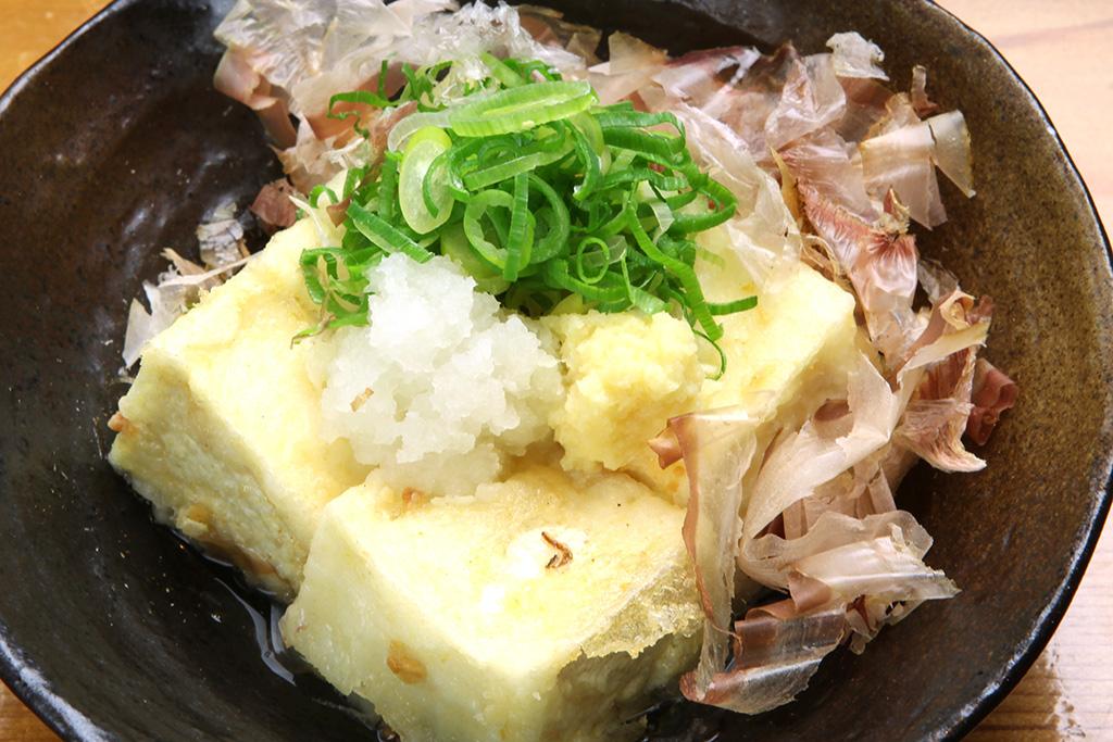 揚出し豆腐…260円