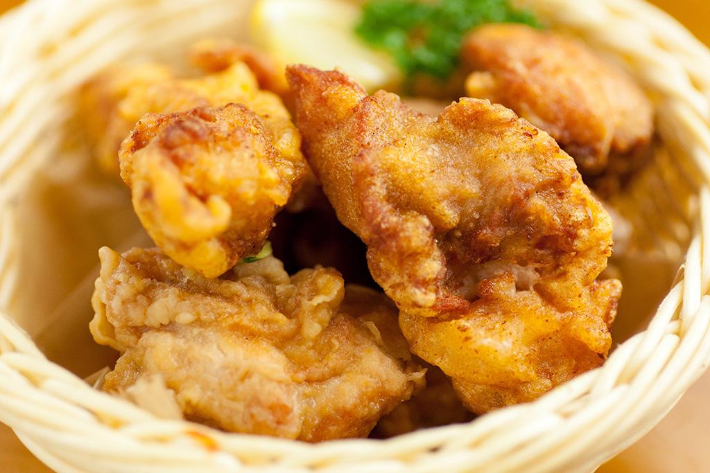 鶏の唐揚げ…480円