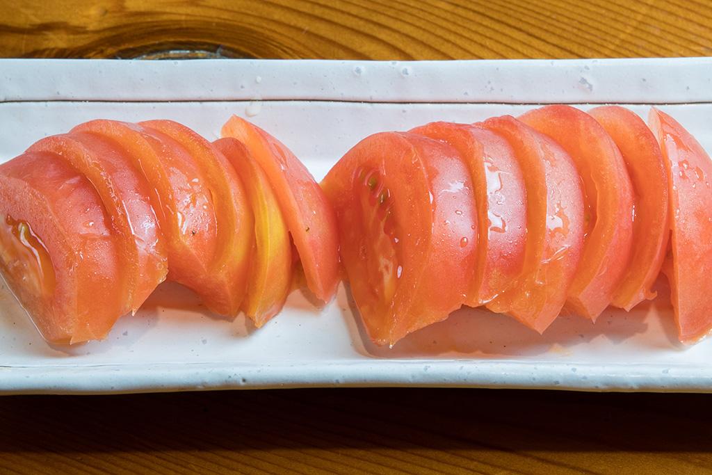 冷やしトマト…360円