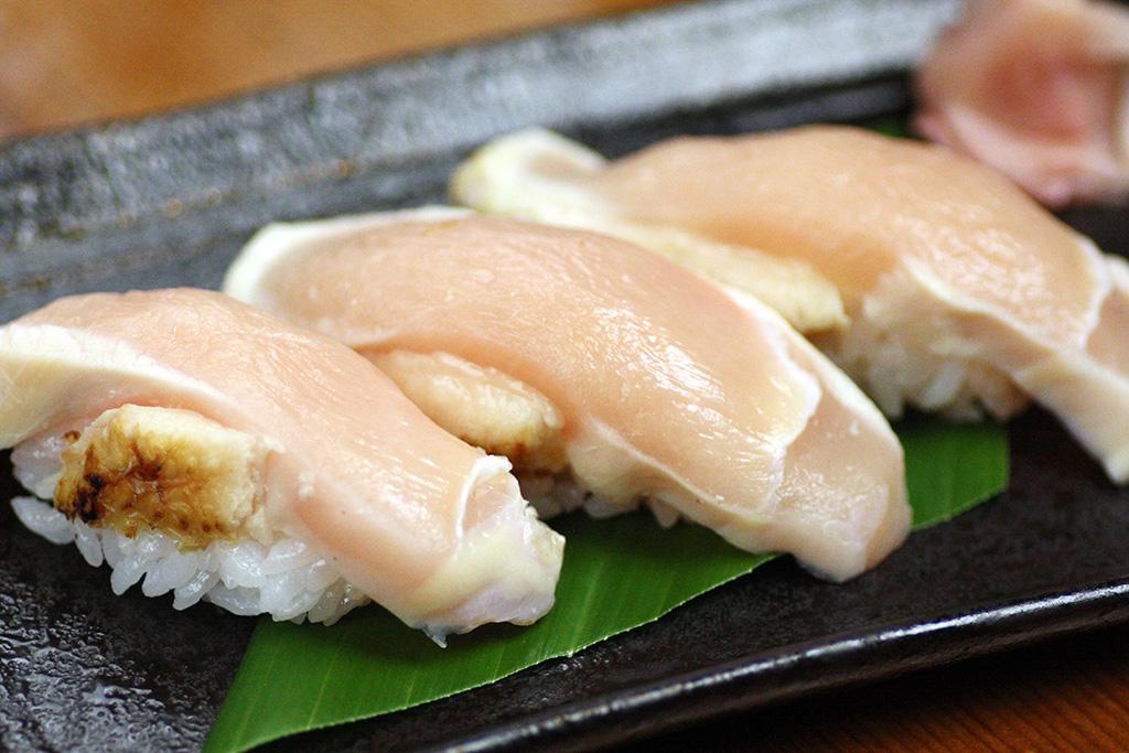 百日鶏の握り…380円